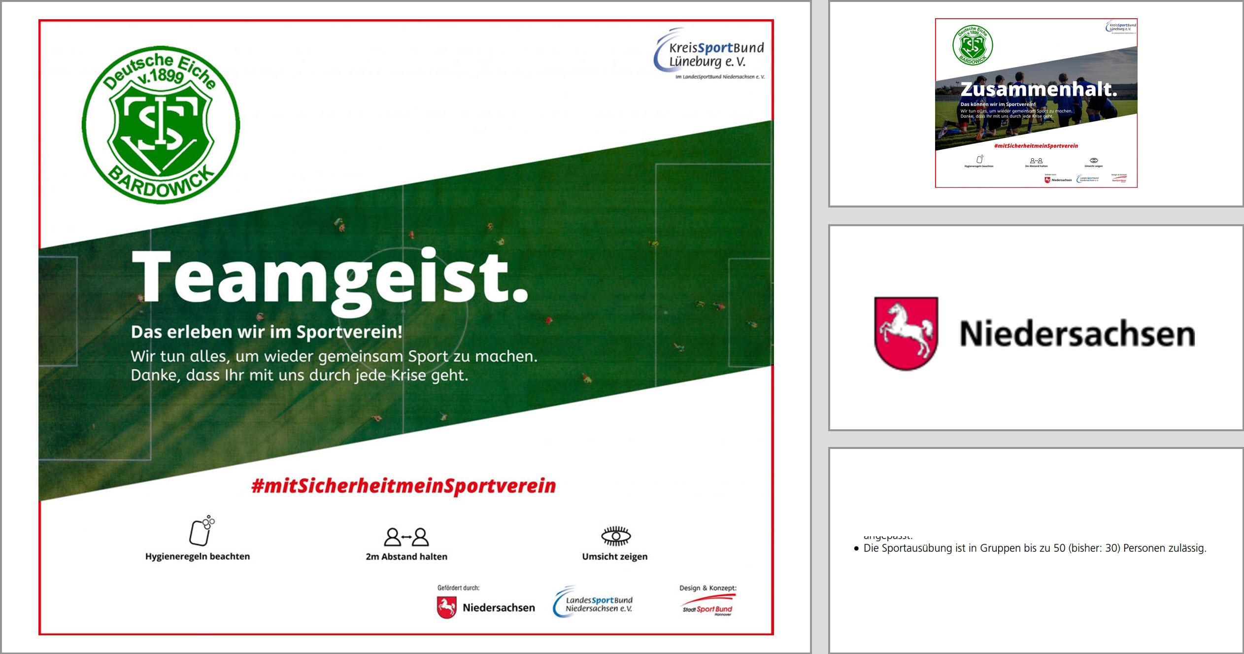 Neue Coronaverordnung: 30-Personen-Regelung überholt - Niedersachsen erlaubt Sport in Gruppen mit 50 Personen