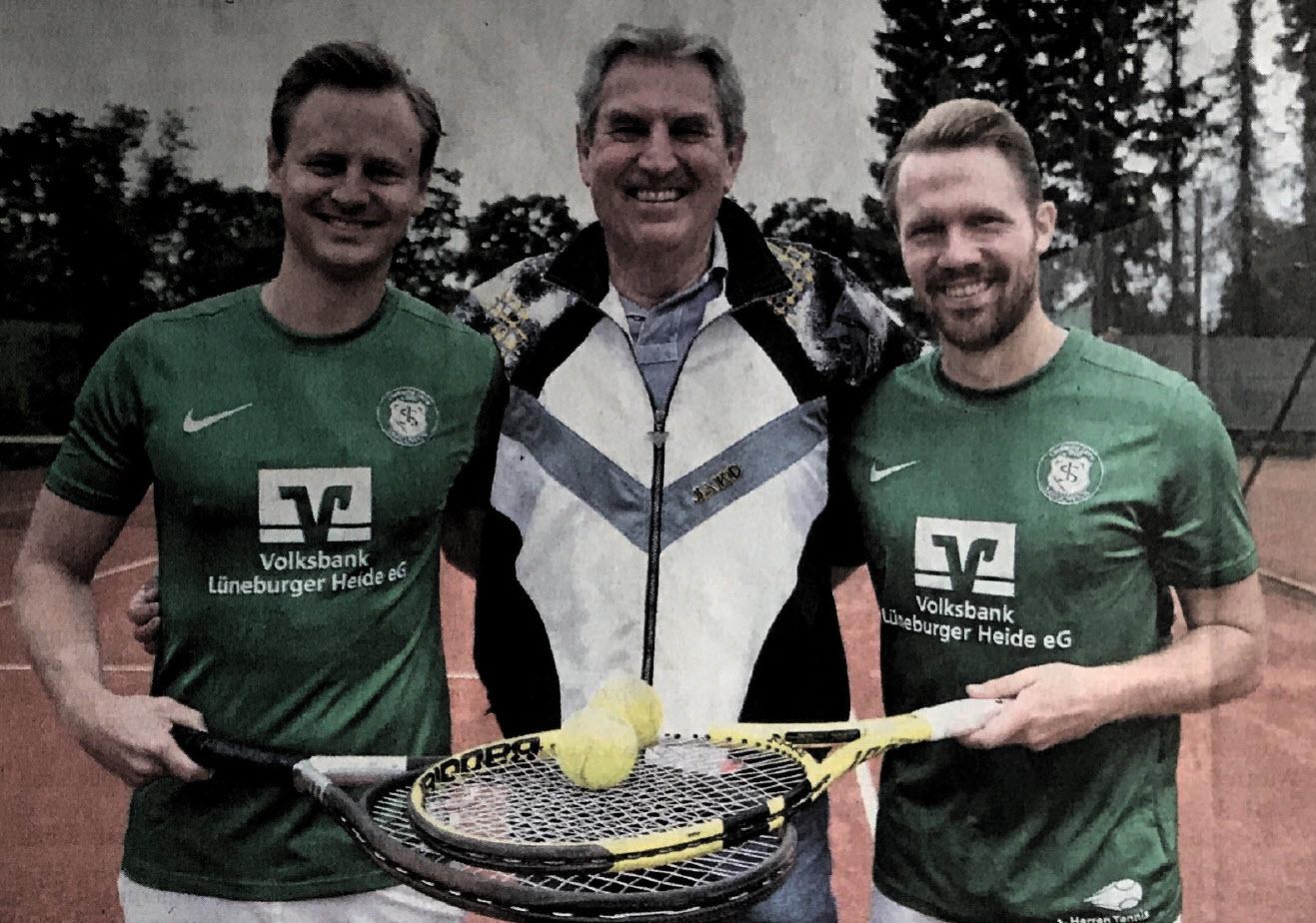 Neues Leben beim TSV Bardowick - Viele Ex-Fußballer gründen eine Tennismannschaft beim TSV Bardowick