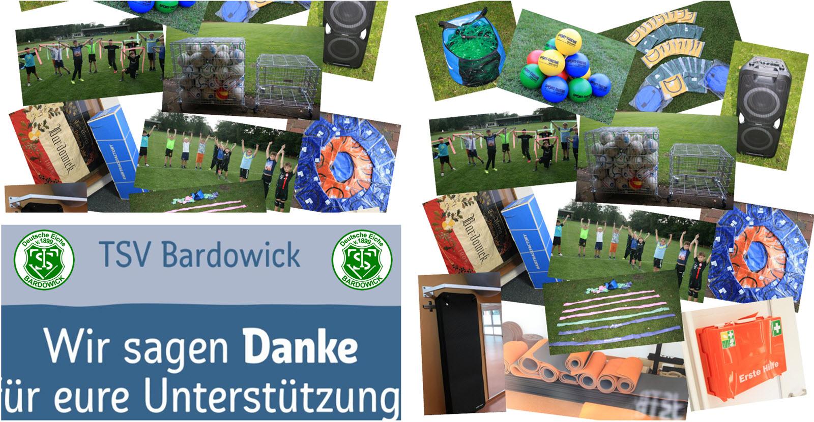 Der TSV Bardowick bedankt sich bei den besten Mitgliedern und Fans der Welt