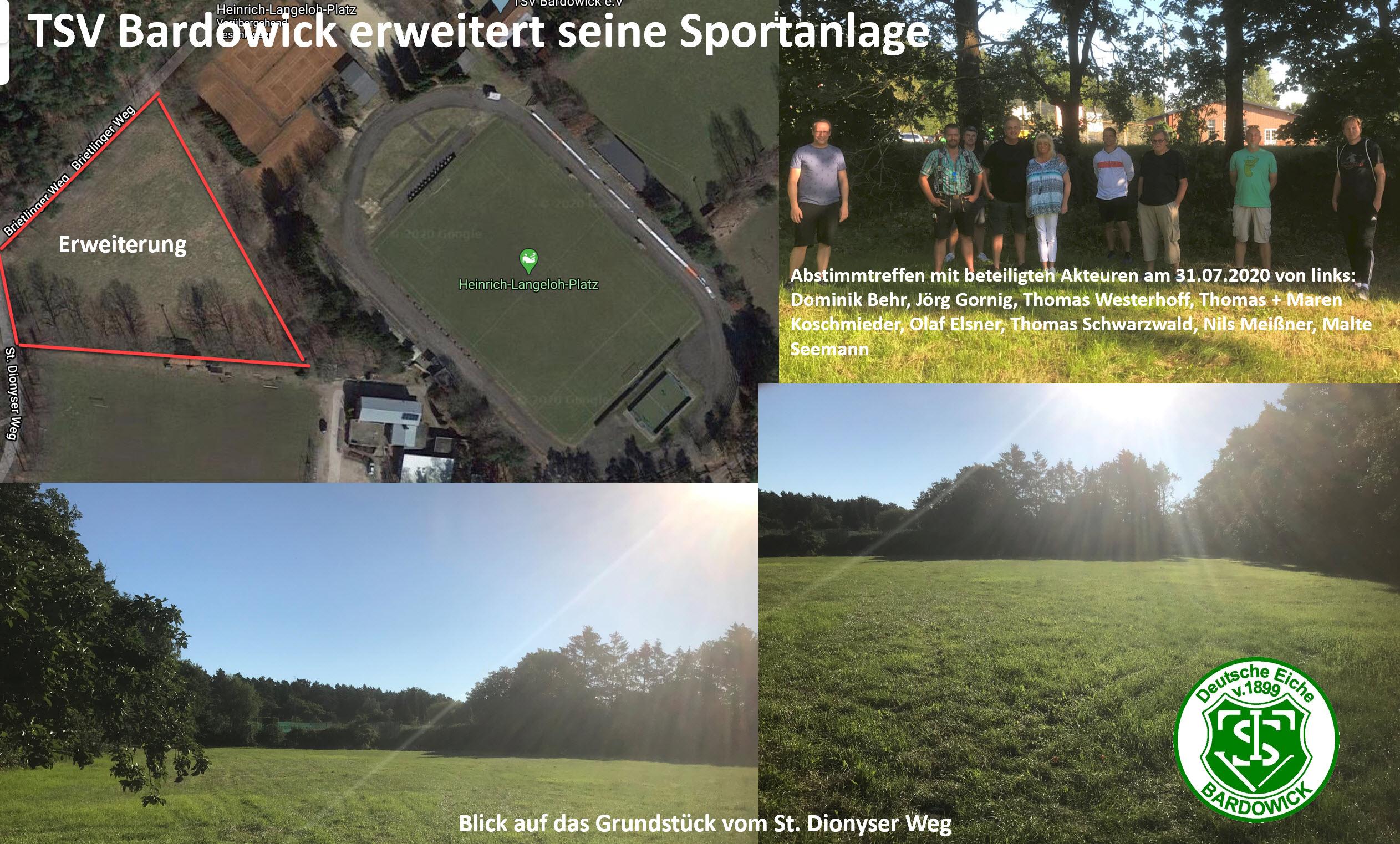 TSV Bardowick erweitert seine Sportanlage