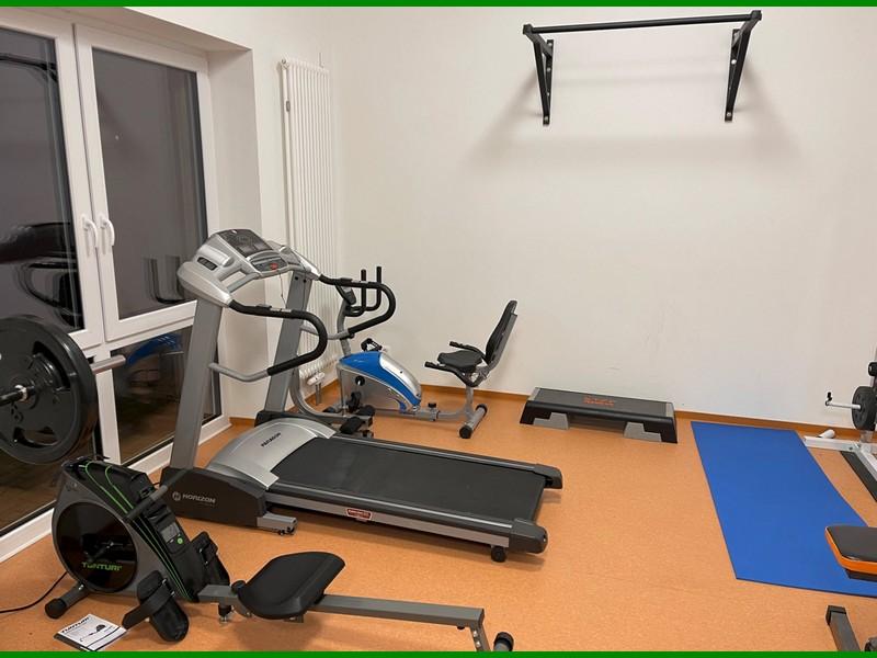 Nutzung des Fitnessraums