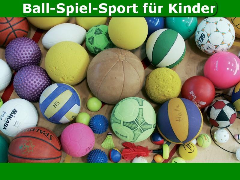 Ball-Spiel-Sport für Kinder