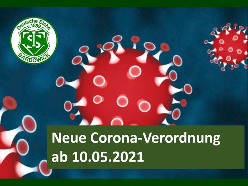 Corona-Verordnung ab 10.05.2021